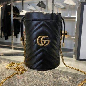 ❤️✨AUTHENTIC✨❤️⭐ Marmont Mini Bucket Bag